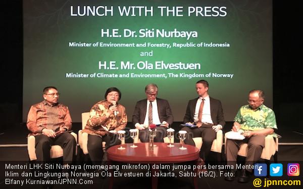 Indonesia - Norwegia Sepakat Genjot Upaya Konservasi Hutan dan Laut - JPNN.COM