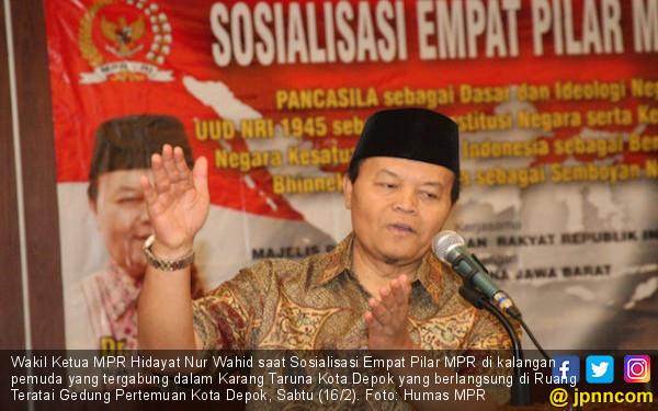Simak! Permintaan Khusus Wakil Ketua MPR Hidayat Kepada Karang Taruna Depok - JPNN.com