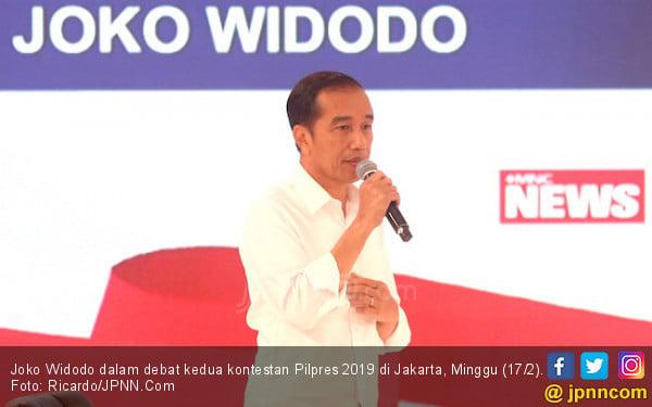 Dituduh Pakai Earpiece saat Debat, Jokowi: Ah, Ada-Ada Saja - JPNN.com