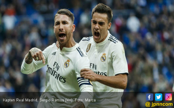 Real Madrid vs Girona: Menunggu Skenario Kartu Kuning Sergio Ramos - JPNN.COM