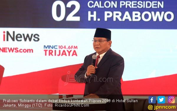 Jokowi Bilang Prabowo Sosok yang Kurang Optimistis