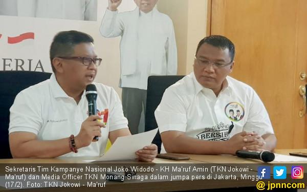 Sssttt, Akan Ada Kejutan dari Pak Jokowi saat Muncul di Lokasi Debat Capres - JPNN.COM
