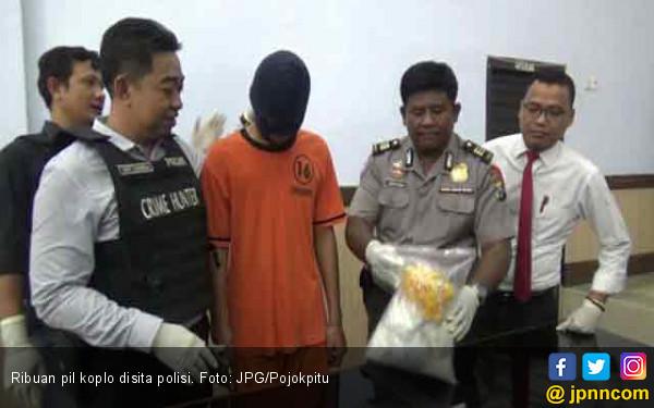 Diintai Sebulan, Pengedar Ribuan Koplo Akhirnya Keok Tertangkap - JPNN.com