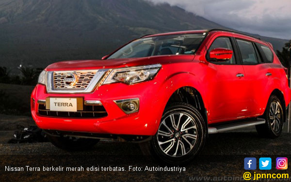 Nissan Terra Berbalut Warna Merah, Hanya 100 Unit - JPNN.com