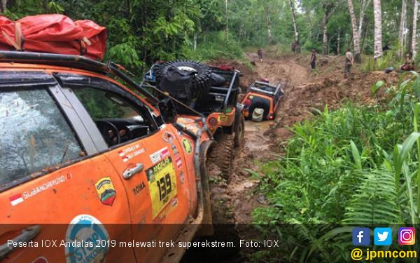 Trek Superekstrem Siksa Peserta IOX Andalas 2019 - JPNN.com