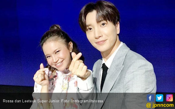 Rossa Kolaborasi Bareng Leeteuk 'Super Junior' - JPNN.com