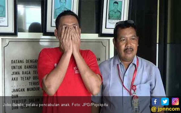 Cabuli Bocah 7 Tahun Selama 6 Bulan, Joko Susilo Ditangkap Polisi - JPNN.com