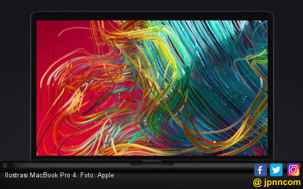 MacBook Pro Terbaru Bakal Berlayar 16,5 Inci, Patut Ditunggu - JPNN.com