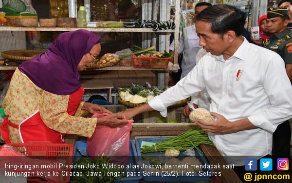 Revitalisasi Pasar Rakyat Efektif Mendongkrak Elektabilitas Jokowi