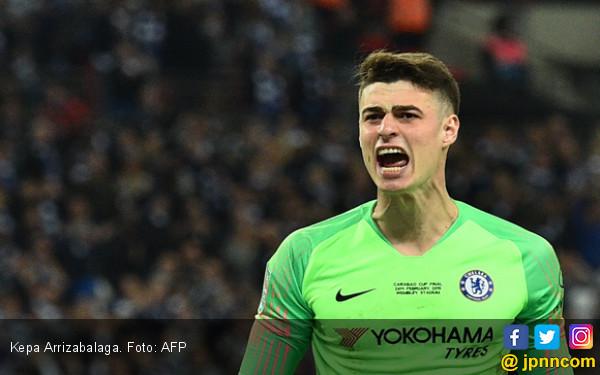 Chelsea vs Tottenham: Sarri Kirim Pesan Tegas Buat Kepa - JPNN.com