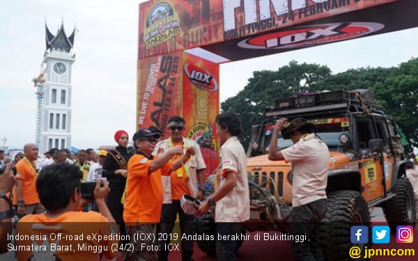 Finis di Bukittinggi, IOX 2019 Andalas Istimewa - JPNN.com