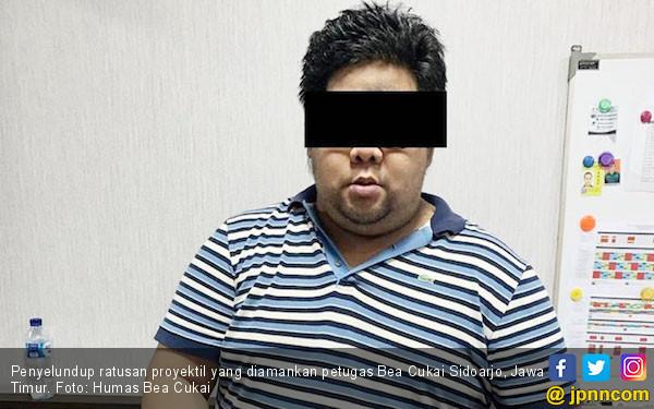 Bea Cukai Gagalkan Penyelundupan Ratusan Proyektil Peluru di Bandara Juanda - JPNN.com