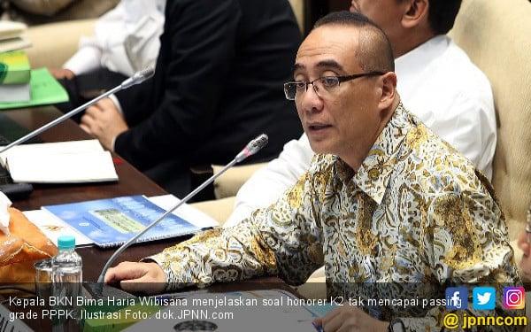 Di DPR, Bima Beber Alasan Enggan Angkat Honorer K2 jadi PNS - JPNN.com