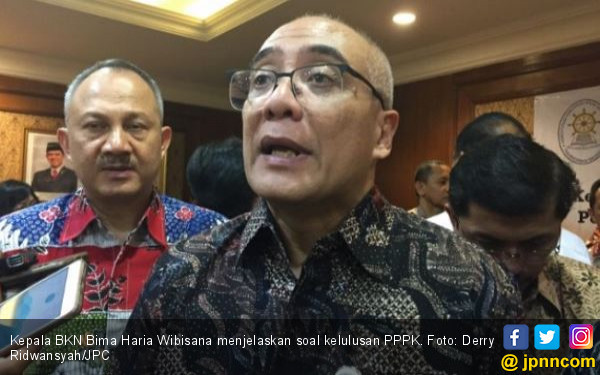 Kepala BKN Pastikan Honorer K2 Lolos Passing Grade Otomatis Lulus PPPK - JPNN.com