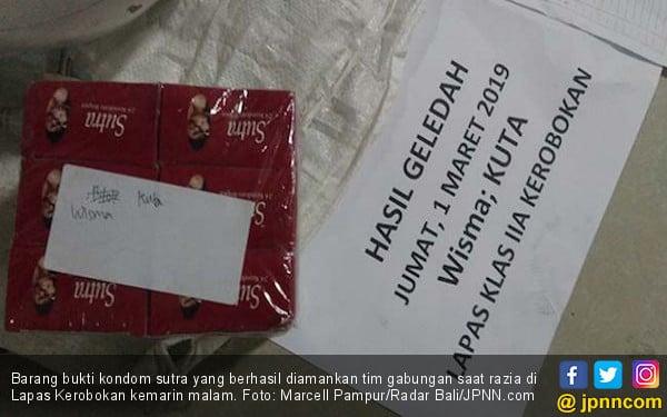 Mengejutkan! Kondom Sutra Berserakan di Wisma Kuta LP Kerobokan - JPNN.com