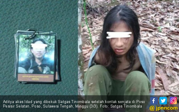 Satgas Tinombala Bekuk Anak Buah Ali Kalora, Nih Tampangnya - JPNN.com