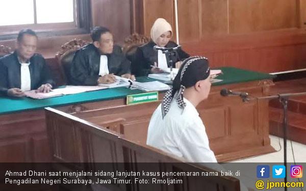 Sarjana Teknik Kimia Dijadikan Saksi Ahli ITE di Sidang Ahmad Dhani - JPNN.com