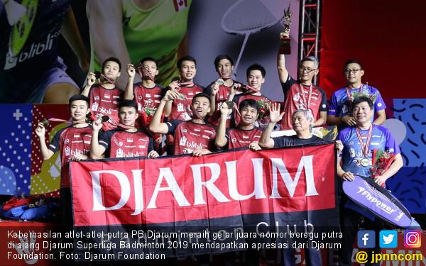 Djarum Foundation Gelontor Bonus kepada Atlet Putra Juara Superliga - JPNN.COM