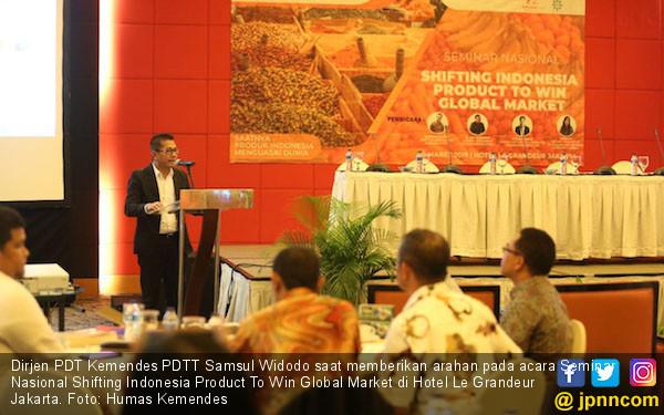 Kemendes Dorong Produk Hasil Binaan BUMDes Bisa Langsung Ekspor - JPNN.com