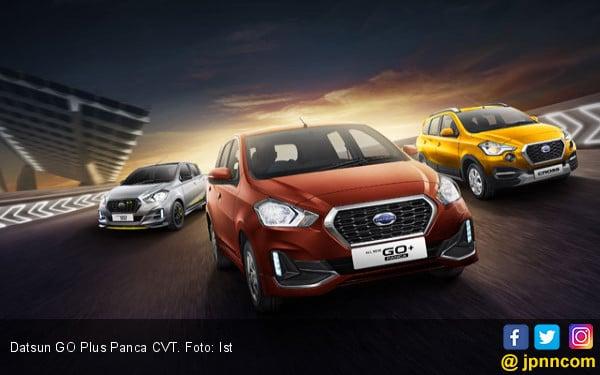 Datsun GO Plus Panca Kini Sudah Pakai CVT, Berikut Harganya - JPNN.com