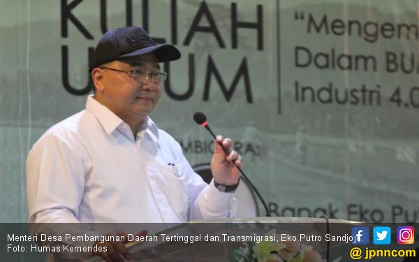 Menteri Desa Dorong BUMDes Mengelola Hasil Pertanian Karet - JPNN.COM