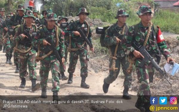 Sebaiknya Guru Honorer yang Dikirim ke Daerah 3T, Bukan Prajurit TNI AD - JPNN.COM