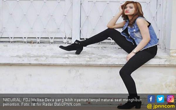 DJ Melilsa Deva Lebih Suka Tampil Natural - JPNN.com