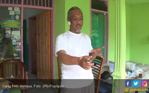 Caleg PAN Dianiaya Preman, Nyaris tak Ditusuk Pisau - JPNN.COM
