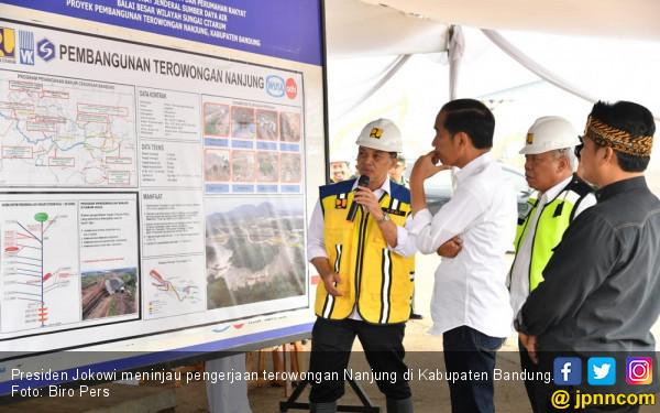 Jokowi Pastikan Terowongan Nanjung Mampu Mengurangi Banjir Bandung Selatan - JPNN.com