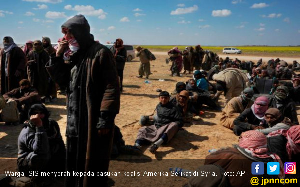 Pergulatan setelah ISIS Kalah di Iraq dan Syria - JPNN.com
