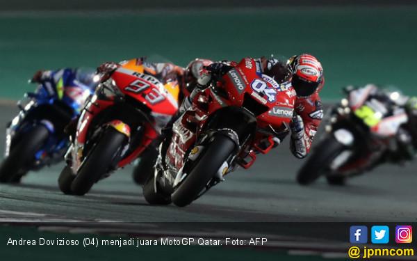 Pengakuan Andrea Dovizioso Setelah Juara MotoGP Qatar - JPNN.com