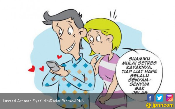 Belang Suami Terbongkar Gara-Gara Pesan Mesra - JPNN.COM