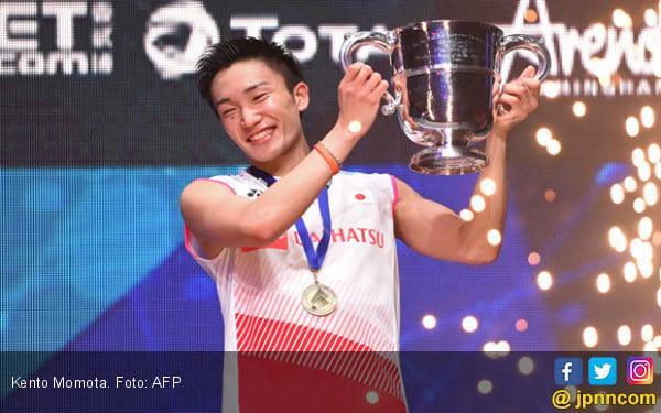 Kento Momota: Saya Tunggal Putra Pertama Jepang yang jadi Juara All England