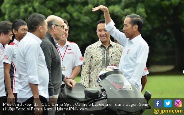 Jokowi Pastikan Kesiapan Indonesia Tuan Rumah MotoGP - JPNN.COM