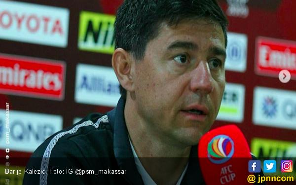 Kalezic Kecewa PSM Tergusur dari Puncak Klasemen Grup H AFC Cup 2019 - JPNN.COM