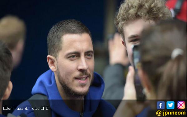 56 Persen dari 128 Ribu Suara Yakin Eden Hazard Pindah ke Real Madrid - JPNN.COM