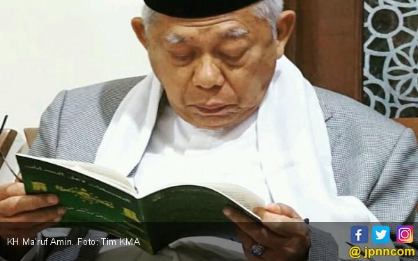 KH Ma'ruf Berdiskusi dengan Menteri & Cendekiawan sebelum Hadapi Sandi - JPNN.COM