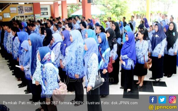 Hanya Siap Menggaji 387 PPPK dari Honorer K2 - JPNN.com