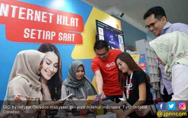 Gig by Indosat Ooredoo Sasar Generasi Milenial - JPNN.COM