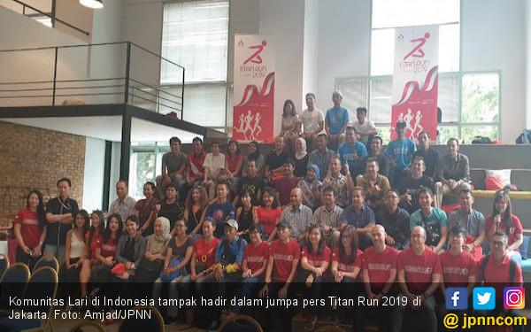 Titan Run 2019 Lombakan Dua Kategori Baru: 17,8 Km dan 45K Team Duo - JPNN.COM
