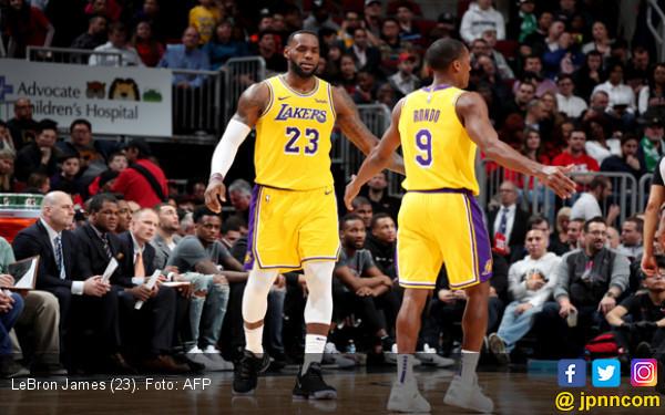 LA Lakers Sulit Tembus NBA Playoff, LeBron James Pasrah - JPNN.com