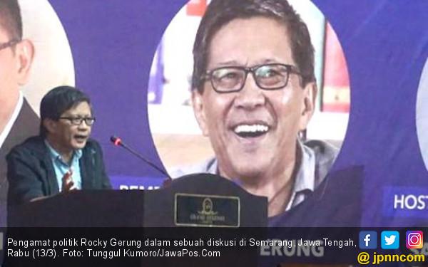 Sindir Kartu Prakerja, Rocky Gerung: Masih Ada Kartu Pradungu - JPNN.COM