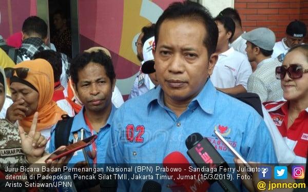 Romi Ditangkap KPK, Timses Prabowo: Bukti Hukum Juga Bisa Tajam ke Atas