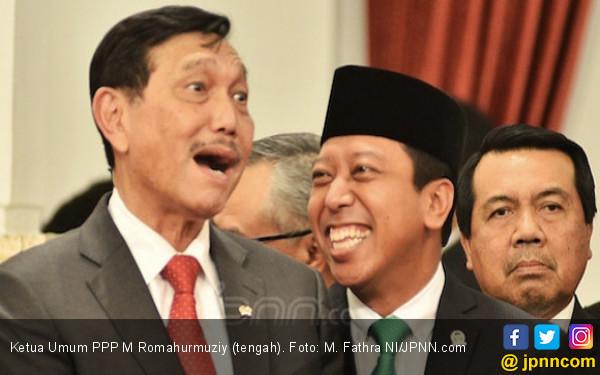 Romahurmuziy Diciduk KPK, Erick Thohir Bilang Tak Pengaruhi Elektabilitas Jokowi