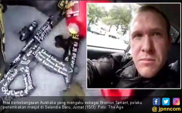 Konon Inilah Tampang Salah Satu Pembantai di Masjid Selandia Baru
