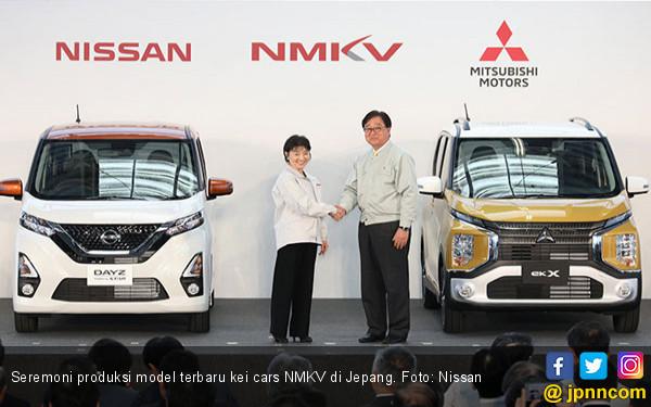 Selain Xpander - Livina, Mitsubishi - Nissan Produksi Kei Cars Semi Otonom - JPNN.COM
