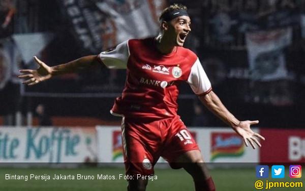 PSS Sleman 0-2 Persija: Bruno Matos Memang Jos!