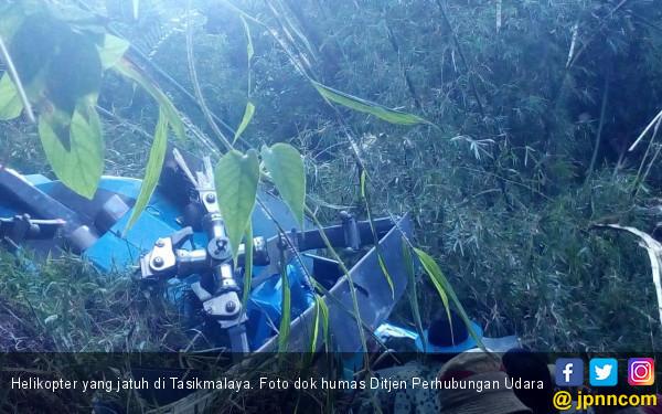 Helikopter Jatuh di Tasikmakaya, Ditjen Udara Kirim Inspektur Penerbangan - JPNN.COM