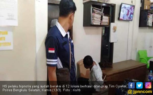 Penangkapan Pelaku Hiptnotis Spesialis Nenek-nenek Diwarnai Tembakan - JPNN.COM