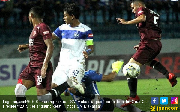 PSIS Semarang 1-0 PSM Makassar: Sama-Sama Menangis pada Akhir Laga - JPNN.COM